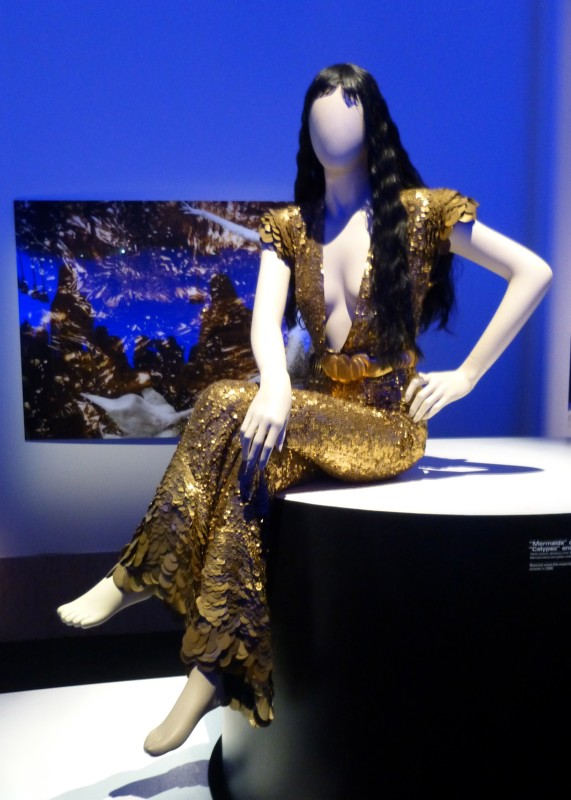JPG Gold Mermaid Outfit
