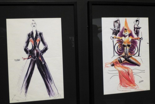 Costumes Sketches for Madonna