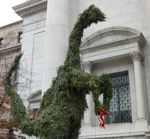Dinosaur Spruce at AMNH