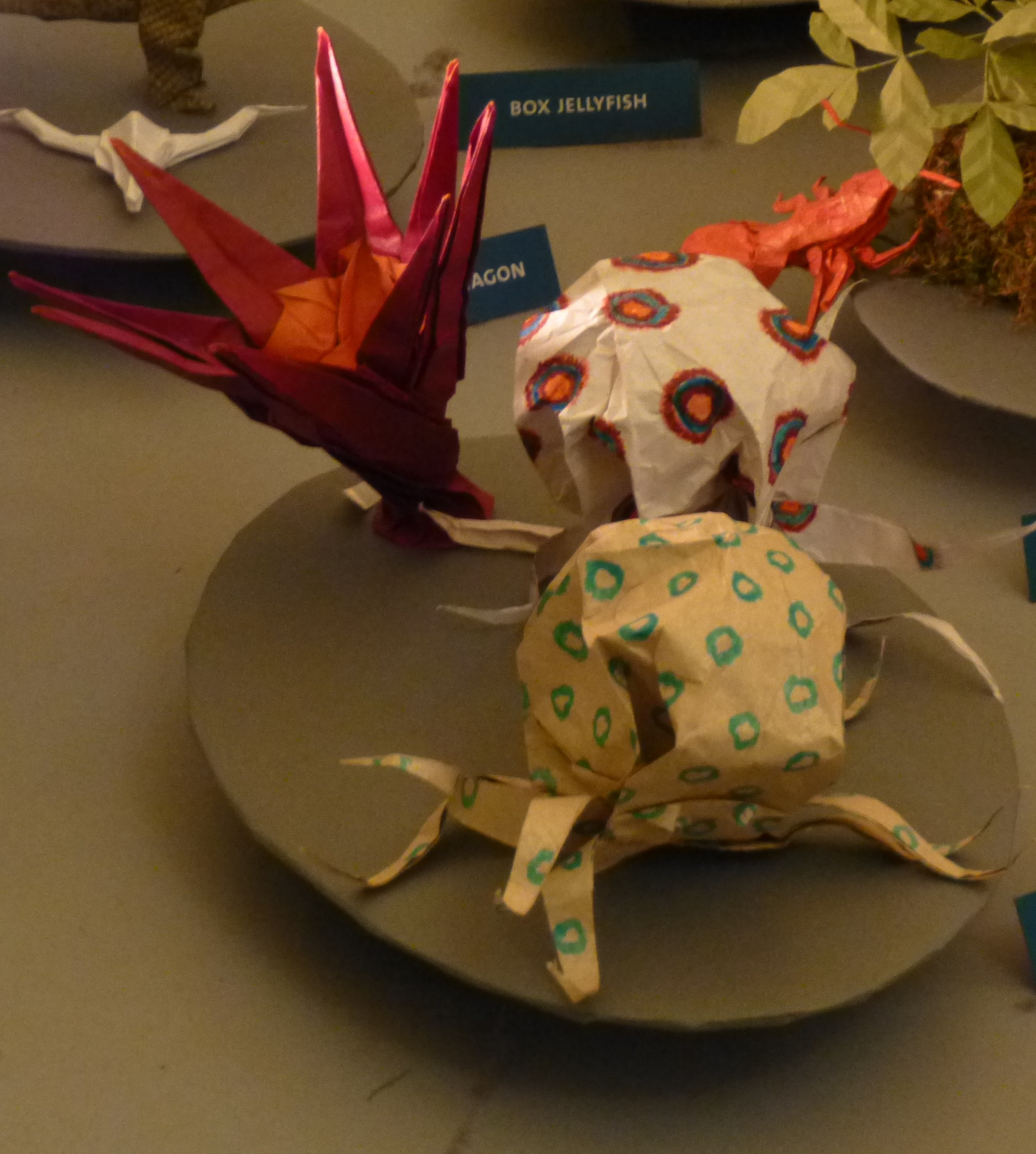 Origami Christmas Tree At The American Museum Of Natural History Nut Spring Octopi
