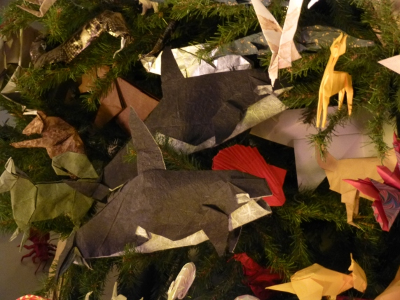 Origami Killer Whales