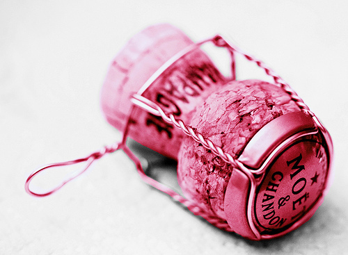 Pink Champagne Cork