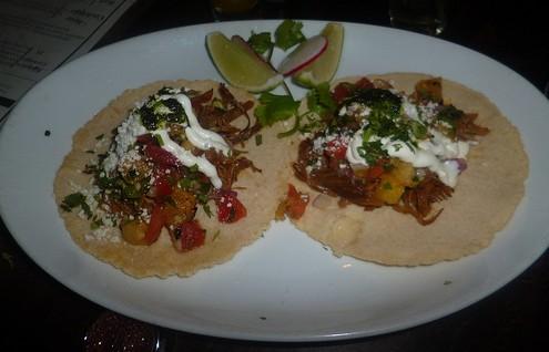 Teqa Pulled Pork Tacos