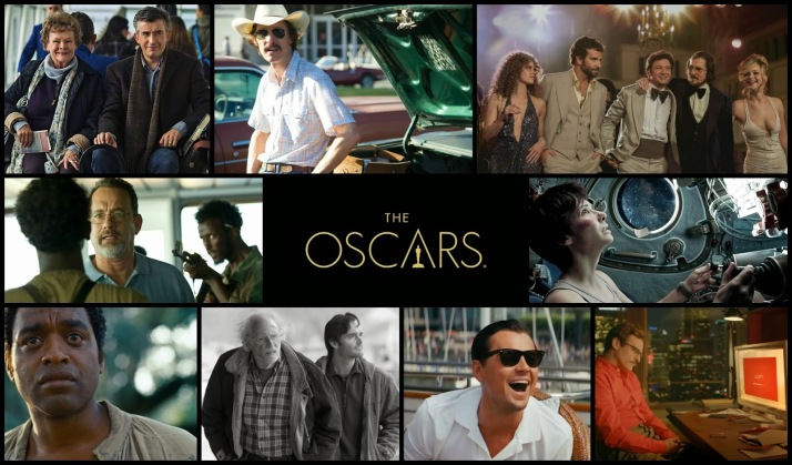Best Picture Oscar Collage