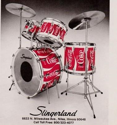 Coca Cola Drums