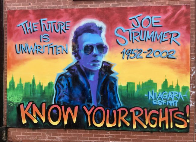 Joe Strummer Mural 2018