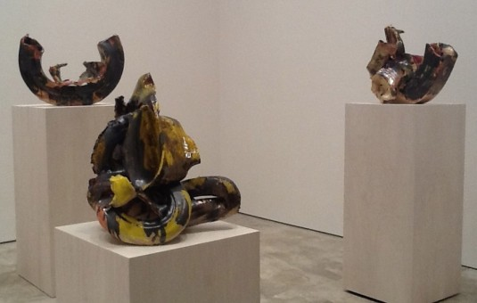 Lynda Benglis 3 Tire Sculptures