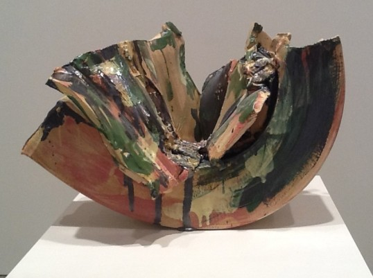 Lynda Benglis U-Shaped Sculpture