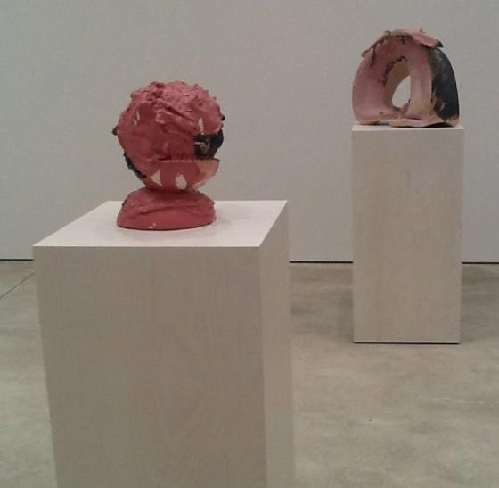 Lynda Benglis Pink Sculptures