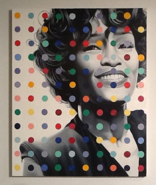 Whitney Houston By John Grande