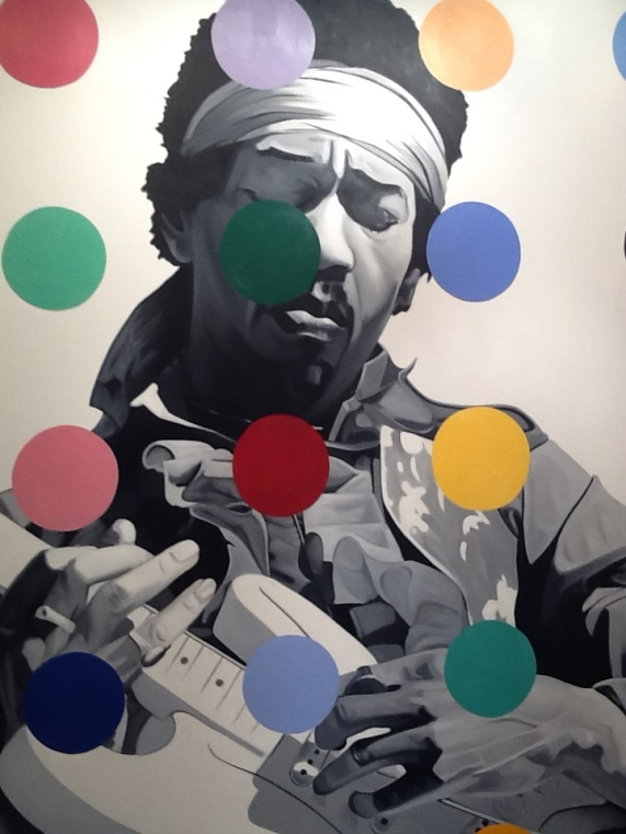 Jimi Hendrix By John Grande