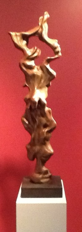 Herb Alpert Bronze Totem Red Background
