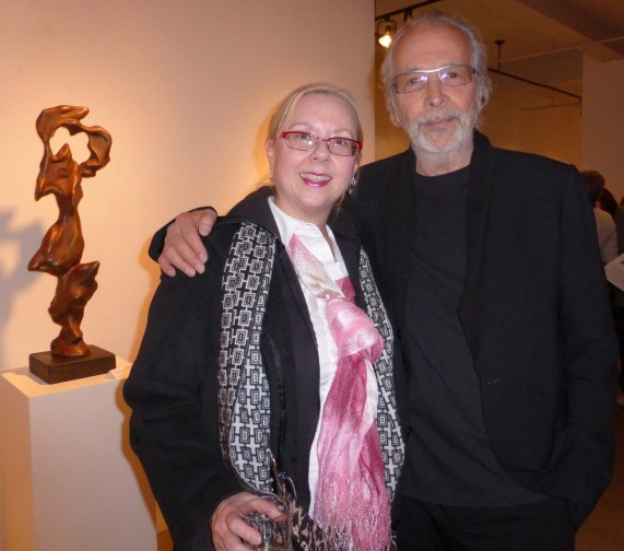 Herb and Gail at ACA Gallery