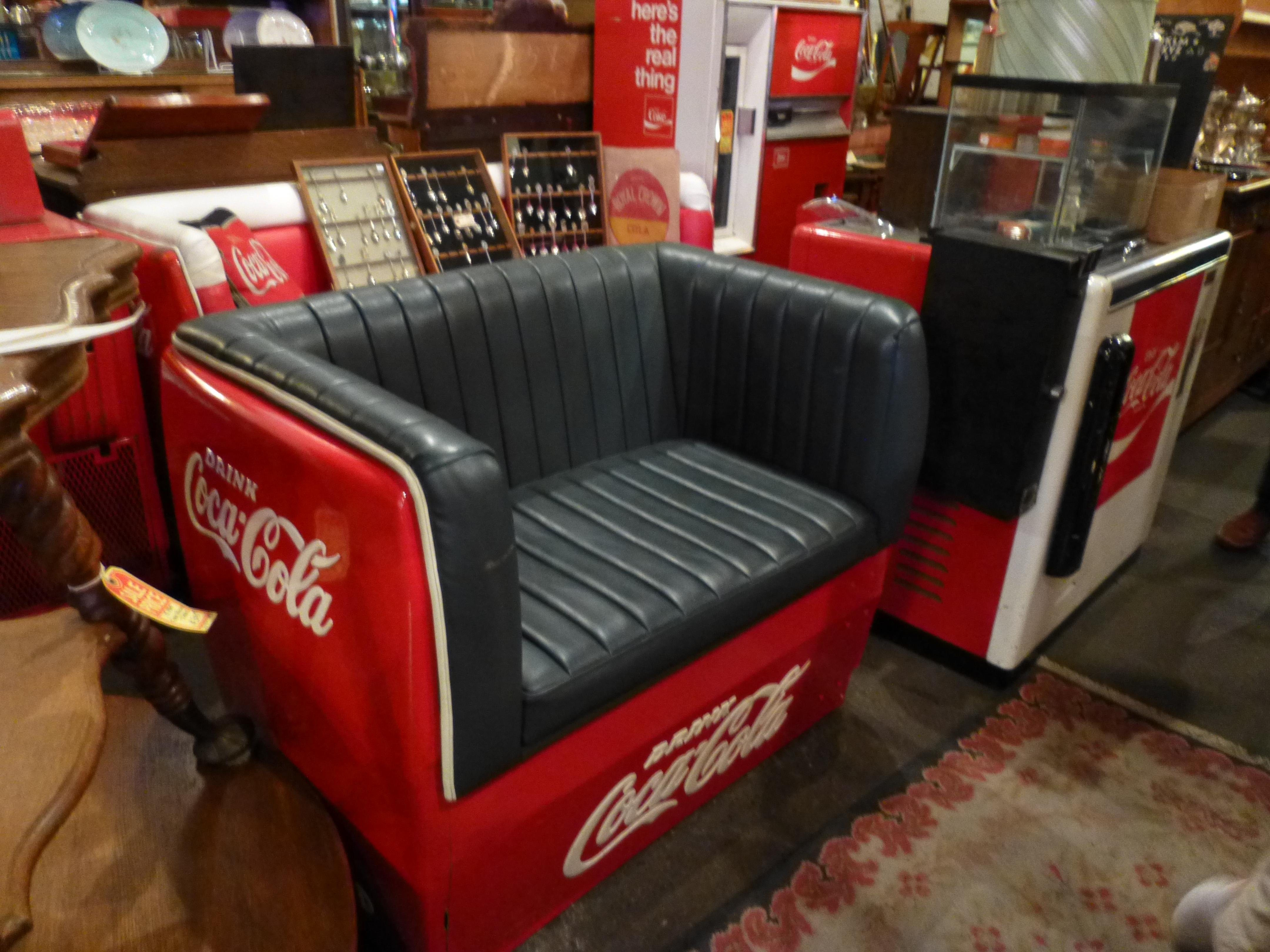 Vintage Coca Cola Cooler Furniture The Worleygig