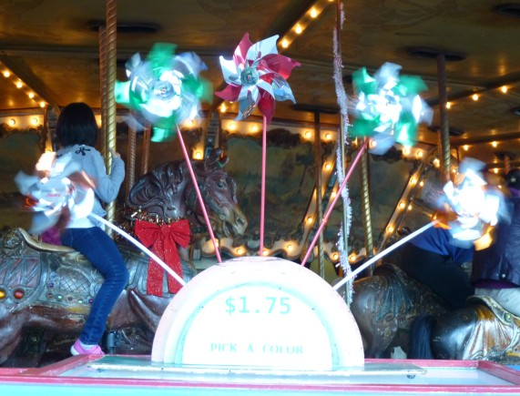 Griffith Park Merry Go Round Pinwheels
