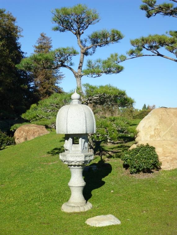 Stone Pagoda Statue