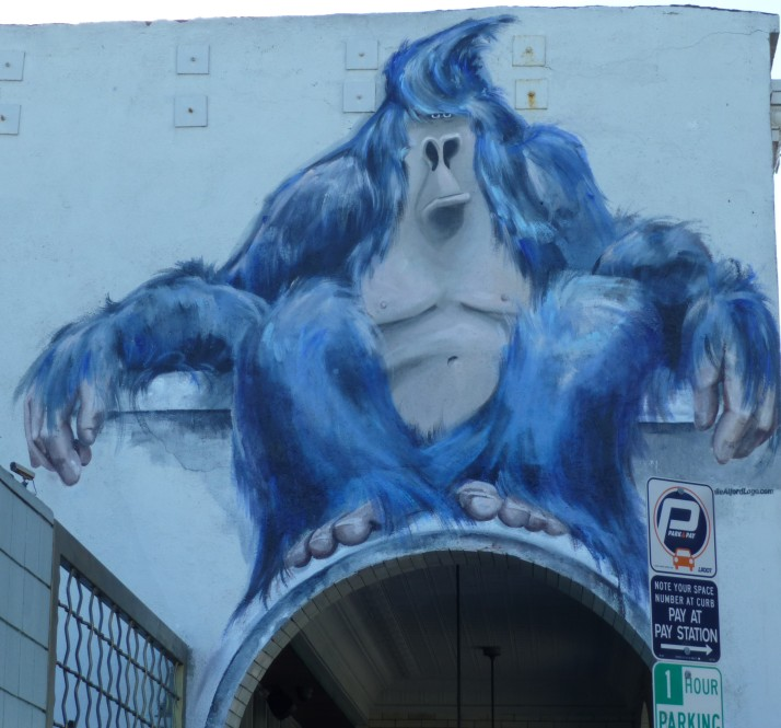 Blue Gorilla Venice Beach