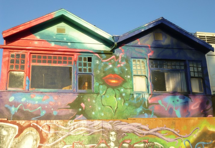Graffiti Houses, Venice Beach