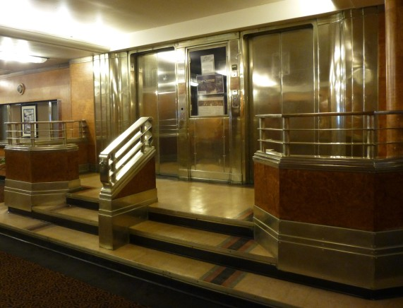 Doors to Non-Operating Elevator