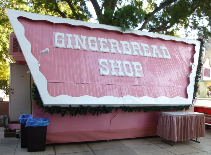 Pink Gingerbread Shop