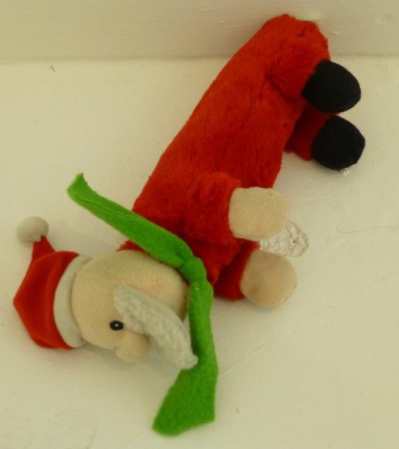 Santa Toy at The Hole