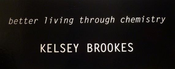 Kelsey Brooks Exhibit Signage
