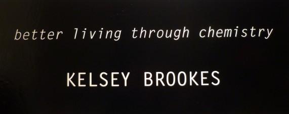 Kelsey Brooks Exhibit Signage