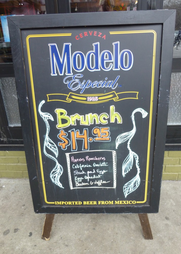 Brunch Sign