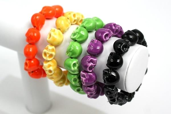 Skull Bracelets Display