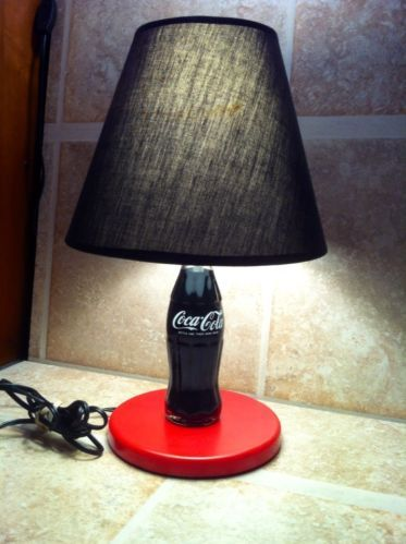 Vintage Coke Bottle Table Lamp