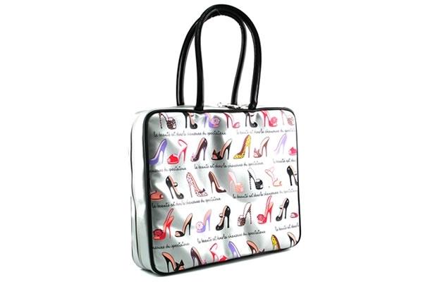 Fancy Heels Fluff Laptop Bag