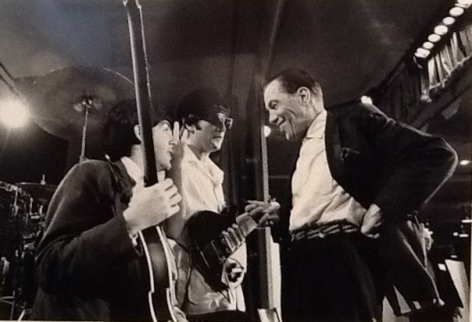 Paul and John with Ed Sullivan