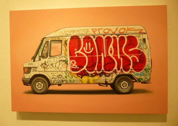 Kevin Cyr Bonks Delivery Van