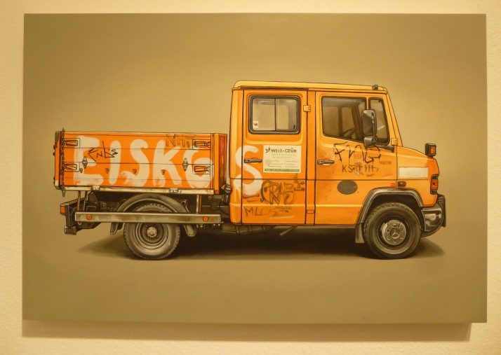 Kevin Cyr Orange Truck
