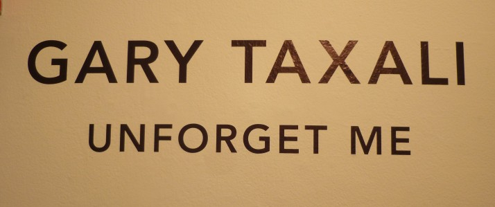 Gary Taxali Unforget Me Signage