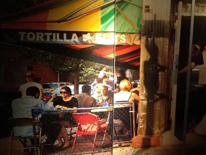Tortilla Flats Mural