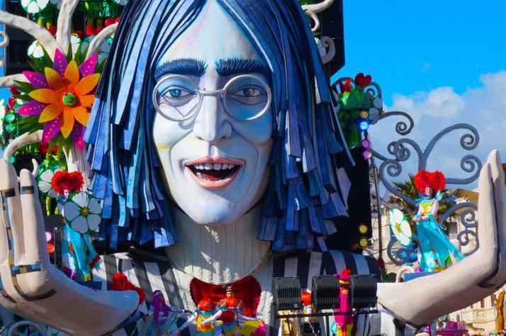 John Lennon Carnivale Float