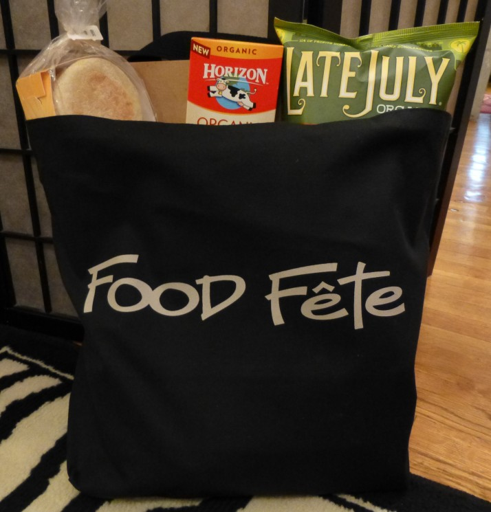 Food Fete Bag with Food