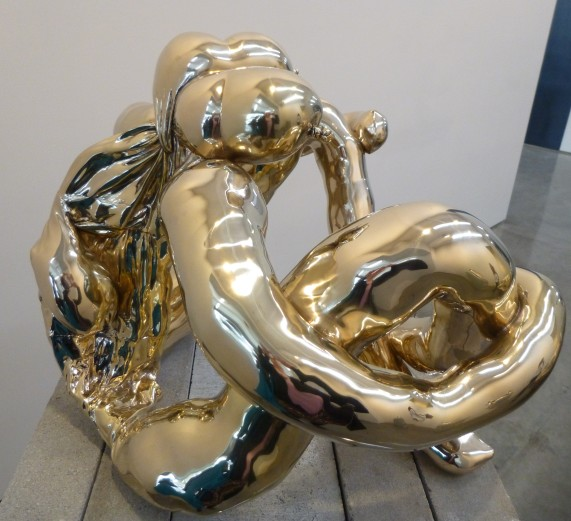 Metallic Nob Sculpture
