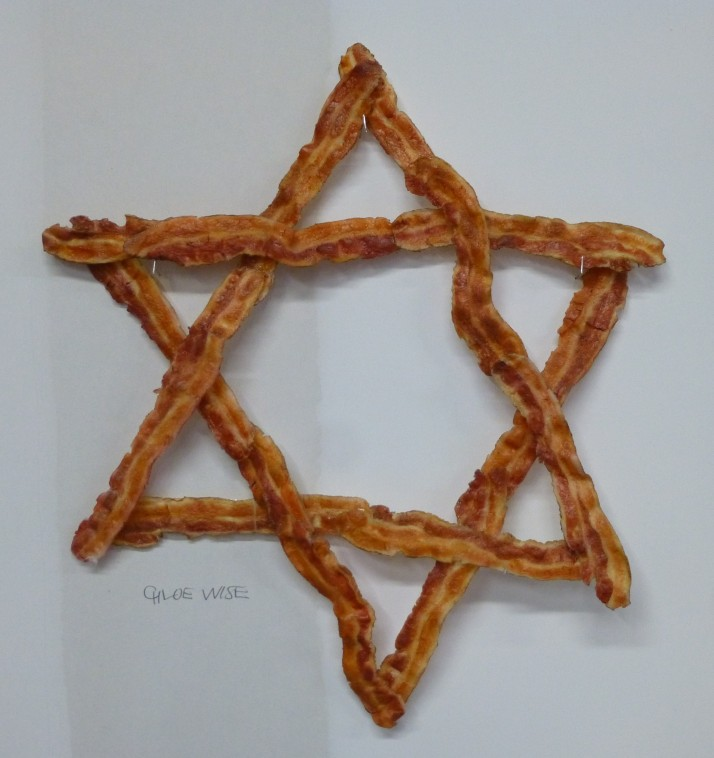 Bacon Star of David