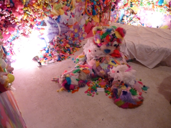 Sebastian Masuda's Colorful Rebellion Teddy Bear