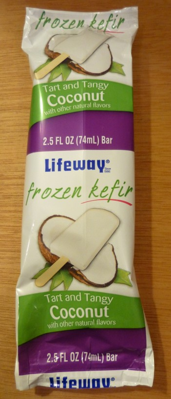 Lifeway Frozen Coconut Kefir Bar