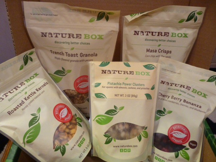 Nature Box Snack Selection