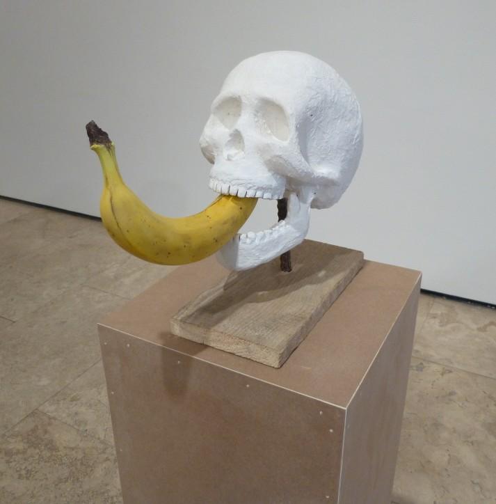 Erwin Wurm Skull Banana