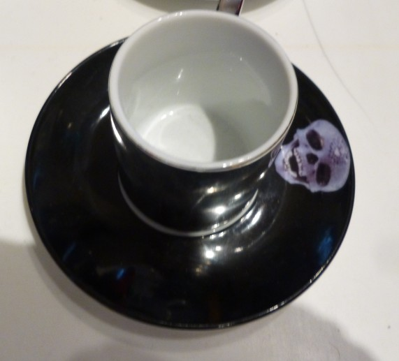 Damien Hirst Diamond Skull Cup and Saucer