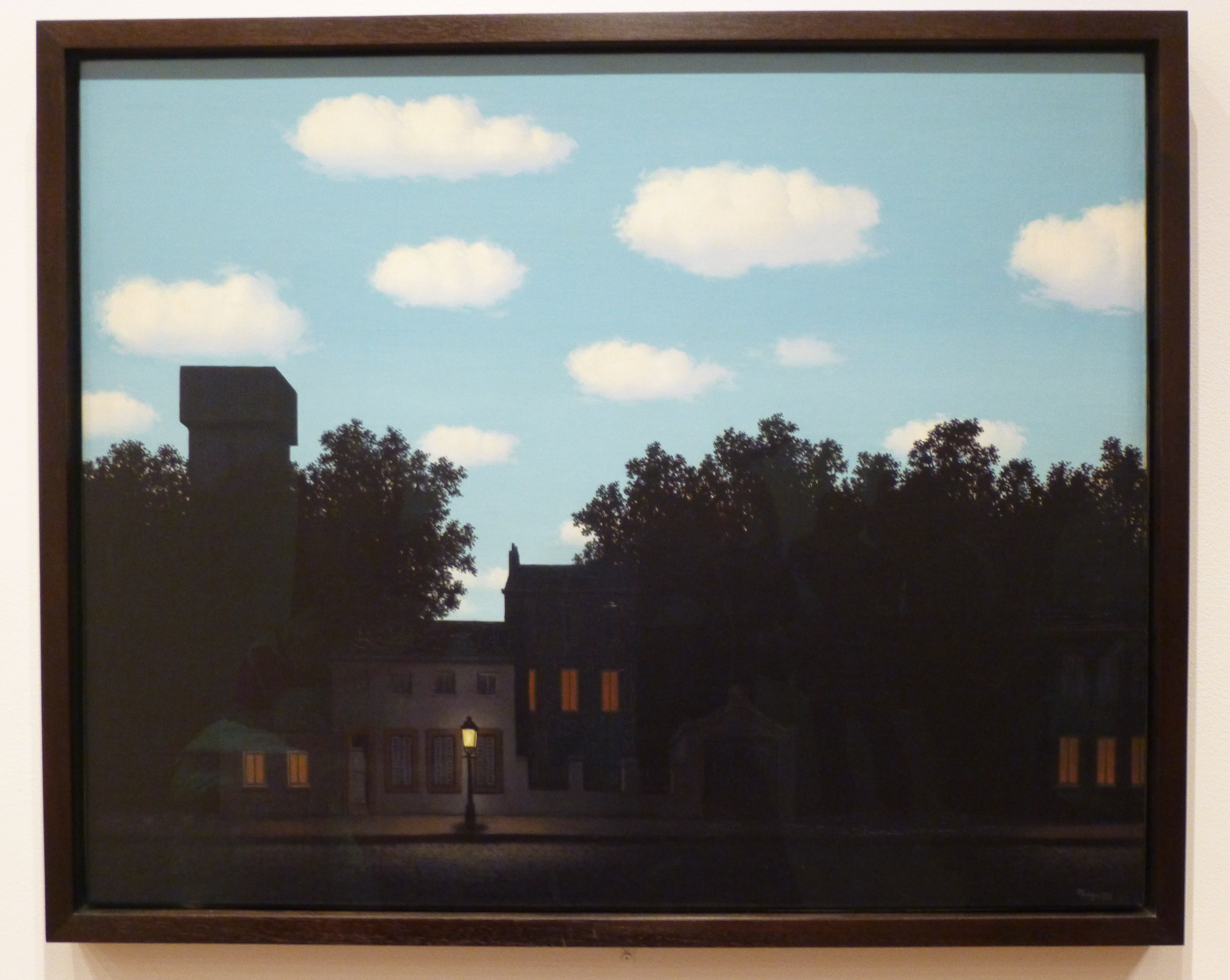 Modern Art Monday Presents Rene Magritte S The Empire Of