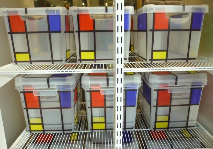 Mondrian Storage Bins