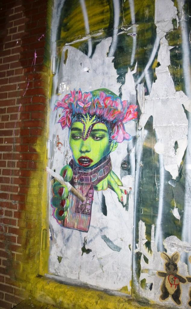 Judith Supine Door Image