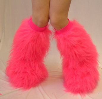 Pink Fuzzy Boots