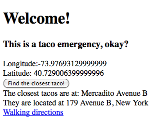 Screen Shot of Taco 911